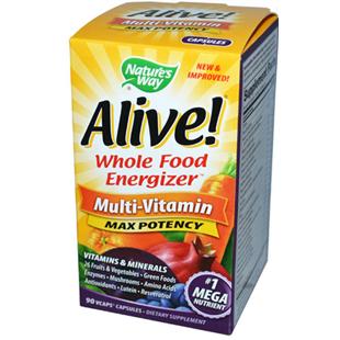 Nature's Way Alive Multi Vitamin 90 Vcaps