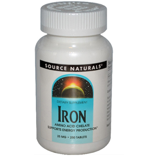 Source Naturals Iron 250 25mg Tablets