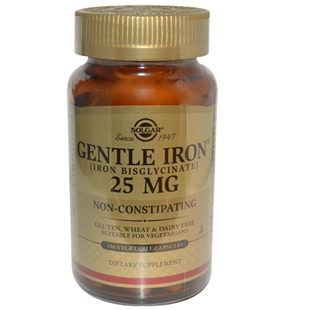 Solgar Gentle Iron 180 25mg Vcaps