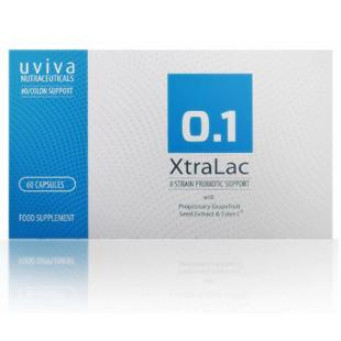 Uviva XtraLac Probiotic 60 Capsules